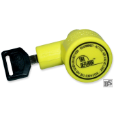 Pneumatische Wegfahrsperre TireDeflator (Ventilwächter)