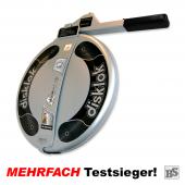 Warenrückläufer: Disklok S 390 SILBER (für Linkslenker)