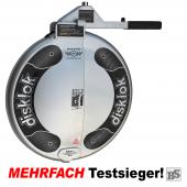 Lenkradkralle BS-Disklok SILBER inkl. Lenkradschoner