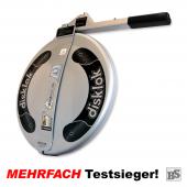 Warenrückläufer: Disklok M 415 SILBER inkl. Tragetasche (neues Modell 2017)