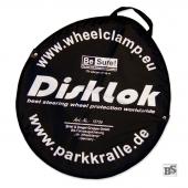 Tragetasche für Lenkradkralle Disklok Silber